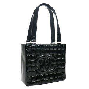 CHANEL Choco Bar Shoulder Tote Bag 7635398 Purse B